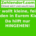 Lokal Einkaufen in Zehlendorf