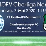 FC Hertha 03 Zehlendorf vs. Charlottenburger FC Hertha 06 am 3.5.2020