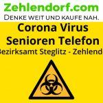 Corona-Pandemie: Seniorentelefon ab 20. März 2020 für Steglitz-Zehlendorf am Start