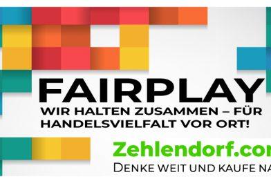FAIRPLAY – WIR IN ZEHLENDORF HALTEN ZUSAMMEN!