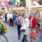 Einkaufen auf dem Zehlendorfer Frischemarkt! Im Freien mit sicherem Abstand! Samstags von 9 – 16 Uhr