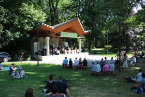 Compass Big Band im Stadtpark Steglitz am 15. Juli 2017